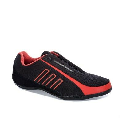 timeless design f9c03 ac361 Adidas Porsche Design - DRIVE ATHLETIC TRAVEL SNEAKERS BLACK RED - US8.5  10.5
