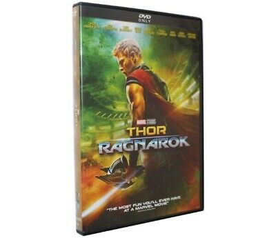 Thor Ragnarok(2018) DVD Marvel Studios New Sealed US Seller Chris Hemsworth