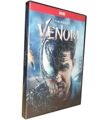 Venom  2018 New Sealed Action Movie US Seller Ships Fast Tom Hardy Avengers