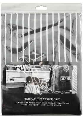 Wahl Cape Lightweight Cutting/Colouring Hairdressing/Barber/Salon Waterproof GR
