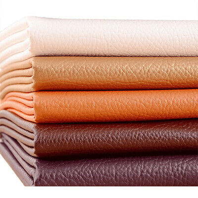 1m PU Faux Leather Fabric Sewing Upholstery Leatherette 135cm Wide 700 GSM