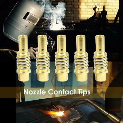 10x 15AK Nozzle Contact Tip Connector Holder for Binzel Gas Diffuser MIG Welder