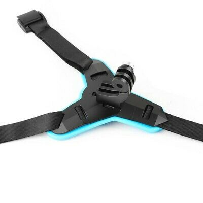 US Action Camera Motorcycle Helmet Chin Mount Strap For GoPro Hero 6/5/4 Yi