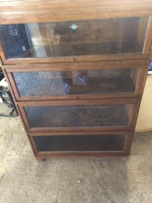 Globe Wernicke Document Cabinet/ Bookcase X4 Sections
