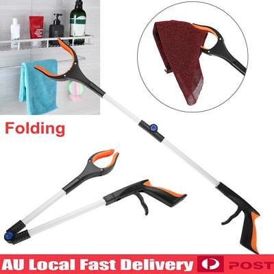 Foldable Pick Up Gripper Grabber Reacher Kitchen Litter Picker Help Hand Tool