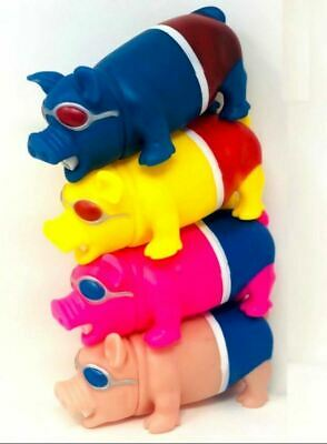 Sound Making Pig Squeeze Stress Relief Big Size Toys Grunting Noise SET OF 4