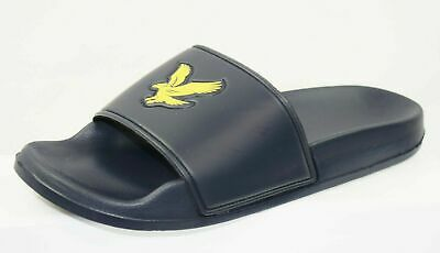 Lyle And Scott Evan Men's Sliders Brand New Size Uk 8 (A17)