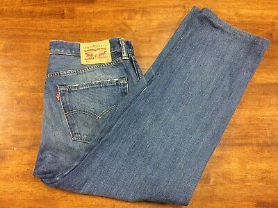 Levi's / Levis 501 Jeans Mens Straight Leg  W34 L27 Great Condition - Free Post
