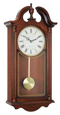 LONDON CLOCK COMPANY MAHOGANY FINISH WESTMINSTER CHIME PENDULUM WALL CLOCK Model