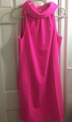 New Sail To Sable Hydra Dress Medium NWT Hot Pink  NEW With Tags