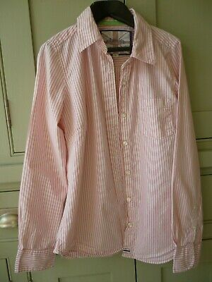 Mini Boden Johnnie B size S girls long sleeve striped shirt in excellent cond