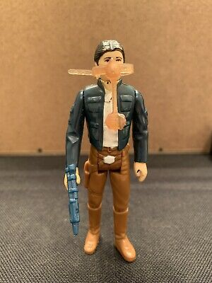 Star Wars Vintage 1980 Han Solo Bespin Complete w/ Bespin Blaster & Gas Mask ESB