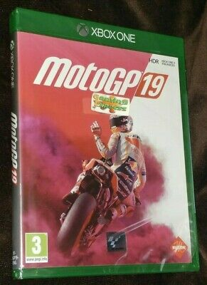 MotoGP 19 Motorbike Racing XBOX ONE XB1 NEW SEALED Free UK p&p Pal