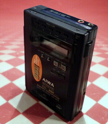 Aiwa Hs-J505 Dsl Bbe System Stereo Cassette Player