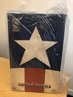 HOT TOYS MMS205 Captain America – Star Spangled Version Toy Fair Exclusive NIB