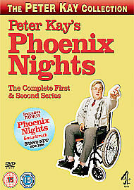 Peter Kay's Phoenix Nights - Complete Series 1 And 2 (DVD + Soundtrack CD)