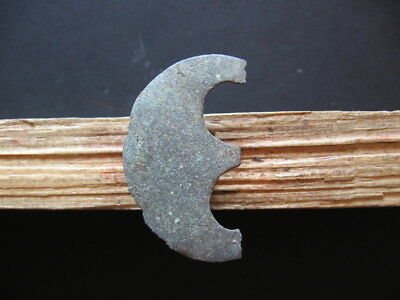 Large Crescent Moon Talisman Ancient Celtic Bronze Lunar Amulet 600-400 B.c.