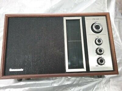 Vintage Panasonic RE 6516 AM/FM Radio-Plays Great -1970's-Japan (#2034)