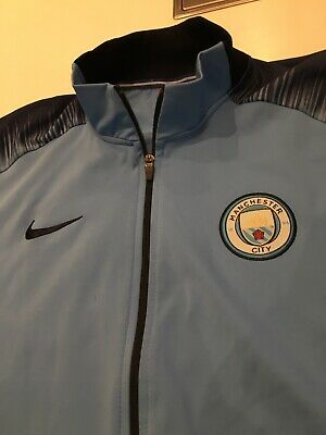 Manchester City tracksuit, 2018 to 2019 champions, xl please see description