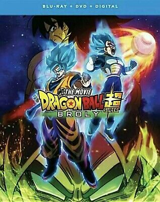 Dragon Ball Super: Broly - The Movie BLU-RAY + DVD + DIGITAL (NEW)