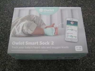 *NEW SEALED* Owlet Smart Sock 2 Baby Heart Rate & Oxygen Level Health Monitor