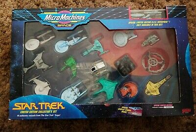 Micro Machines Space Star Trek Limited Edition USS Enterprise Collectors Set 16
