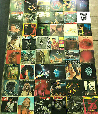 Huge Vinyl Lot ~ 58 RECORDS!!! ~ Classic Rock ~ Country ~ Folk ~ Southern ~ Hard
