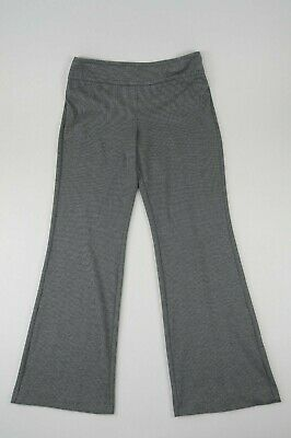 7th Avenue Size XL Tall (16/18) Dress Pants hounds-tooth Black Gray  35X33