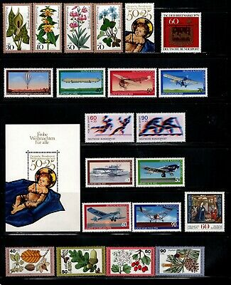 Item No. A7067 – Germany – Scott # B549-B569 – MNH