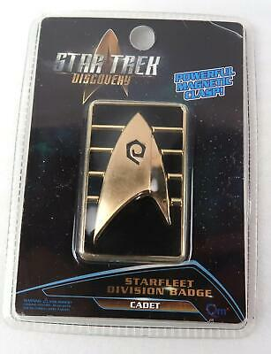 Star Trek Discovery Starfleet Cadet Badge Magnetic Clasp NEW Division Badge