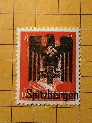 GERMANY (SPITZBERGEN) WWII-GERMAN OCC. 8 Rpf. MNH Priv. Issue /s5