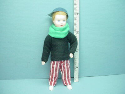 """Miniature Young Woman /""""Maren  #10718 Dollhouse Doll,Handcrafted Erna Meyer 12th"""