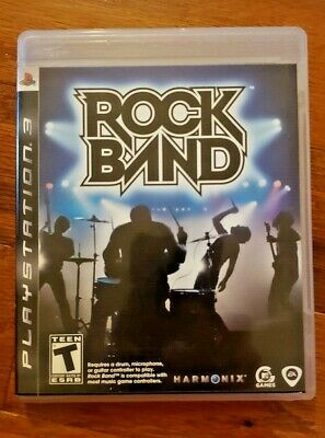 Rock Band – Sony Playstation 3 (Ps3) – Video Game By Activision