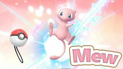 Mew to Lets go Pikachu Eevee - Max IVs AVs