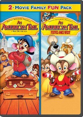 An American Tail 2 -Movie Family Fun Pack (2Pc) New Dvd