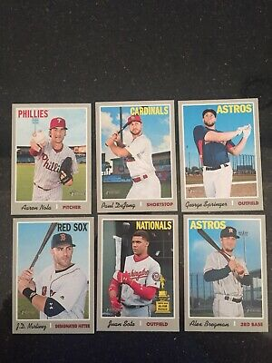 2019 Topps Heritage 17 Card High Number SP Lot No Dupes