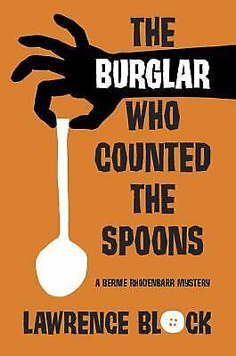 The Burglar Who Counted the Spoons  (ExLib) by Lawrence Block