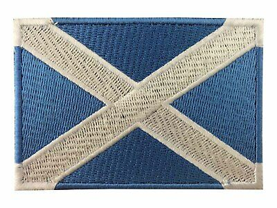 National World Country Embroidered Flag Sewiron On Patch- Scotland A388