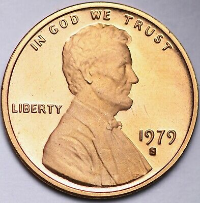 PROOF 1979 S TYPE 1 Lincoln Memorial Cent Penny FREE SHIPPING