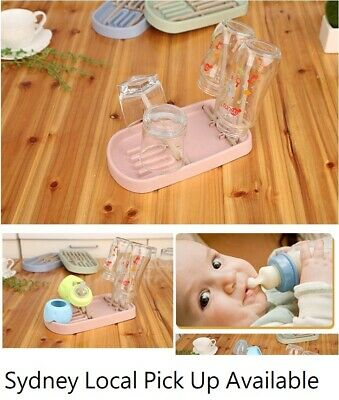 Plastic Baby Bottle Accessories / Glass / Cup Drying Rack Dryer Stand Holder