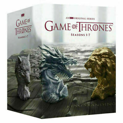 Game of Thrones: The Complete Series Seasons 1-7 (DVD 2017, 34-Disc Box Set)