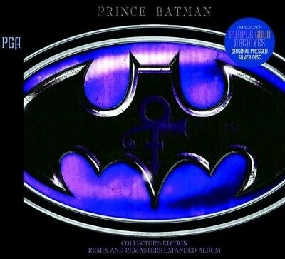PRINCE BATMAN COLLECTOR'S EDITION Remix And Remasters Expanded Album 2CD Japan