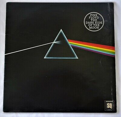 Pink Floyd Dark Side of the Moon Quadraphonic 1973 Q4-SHYLA-804 VGC