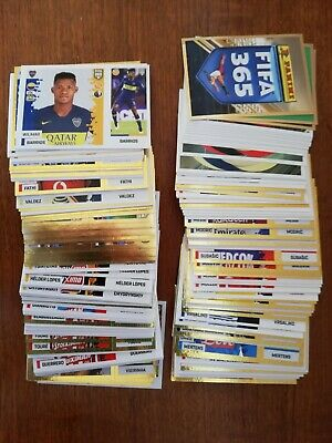 Panini FIFA 365 2019 Stickers, choose 10, 20, 40 stickers to buy