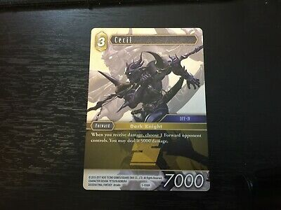 Promo Cecil 1-108H NM Near Mint Final Fantasy TCG FFTCG Opus I 1