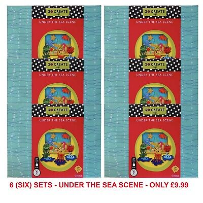Wholesale Job Lot Toys - Go Create Under the Sea Scene Set - 6 Boxes RRP £89.94