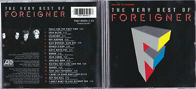 Foreigner The Very Best Of  7567-80505-2 Xv