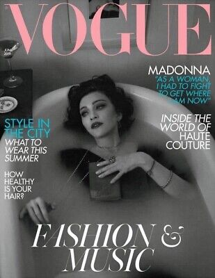 MADONNA Vogue UK Magazine MADAME X NEW MINT 2019 REBEL HEART