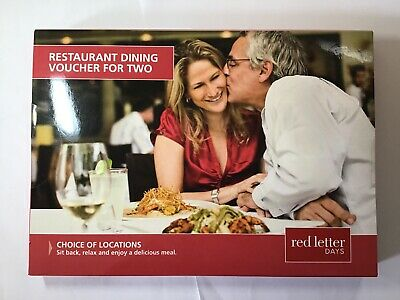 Restaurant Dining Voucher For Two (unopened)