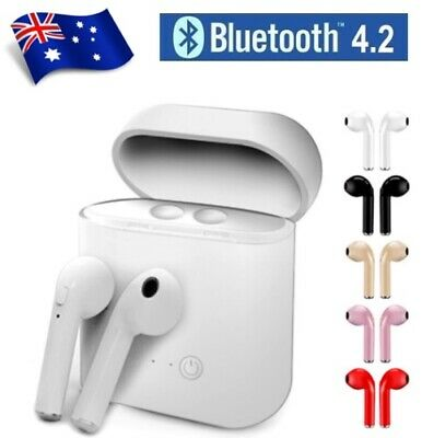 Wireless Bluetooth Earphones Headphones Earbuds for Apple iPhone Samsung Android